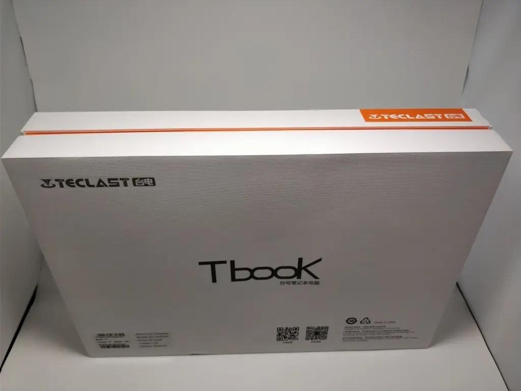 Teclast F7 Notebook 化粧箱 斜め上