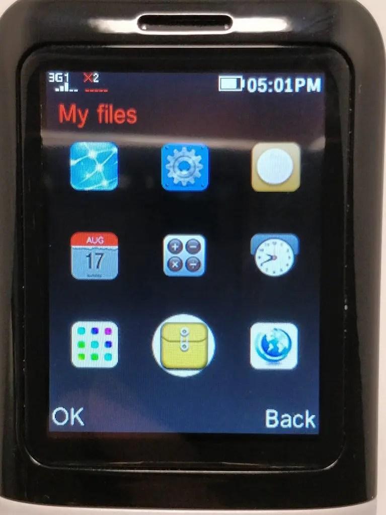 Samgle 3310 X 3G アプリ