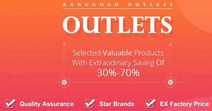 Banggood  OUTLET
