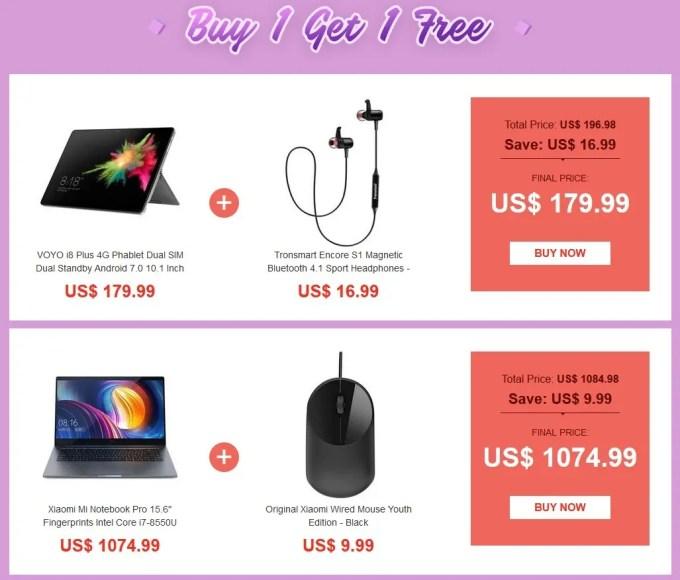 【GeekBuying】2018春節 中華タブレット・アクセサリー セール2