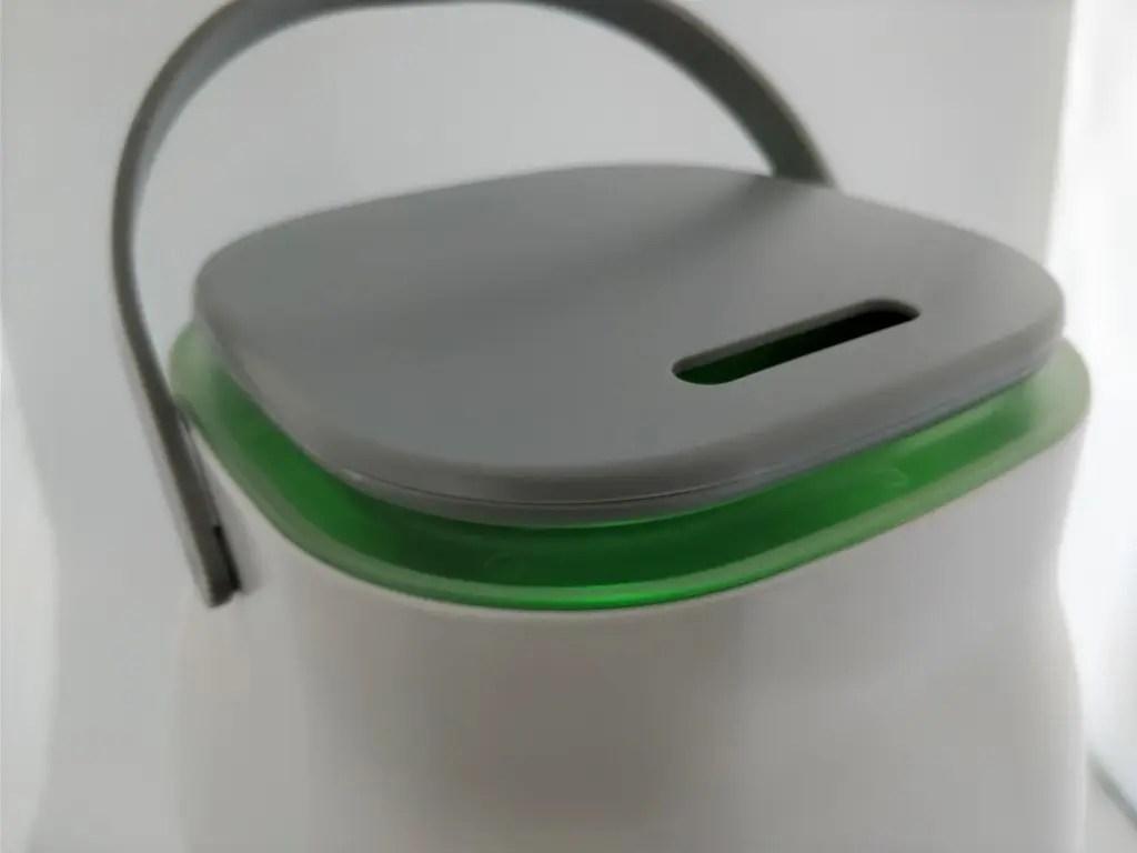 Oittm 超音波式3L スマート加湿器 上 緑