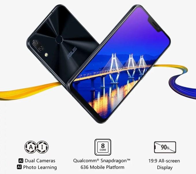 ASUS Zenfone 5 ノッチ