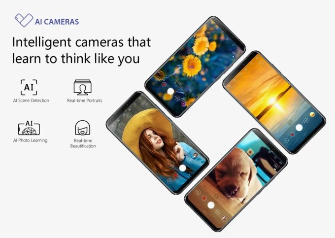 ASUS Zenfone 5 デュアルAI カメラ