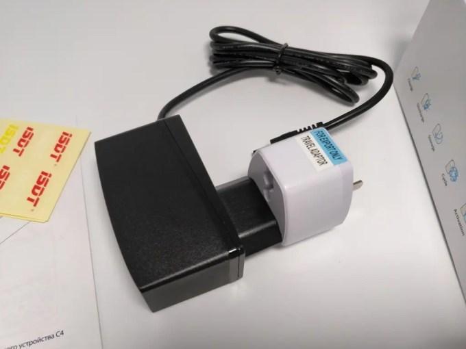 ISDT C4 8Aバッテリー充電器 ACアダプタ