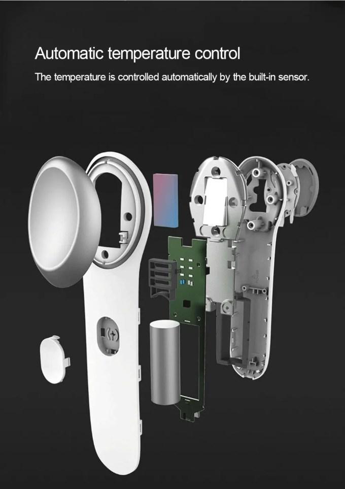 Xiaomi Lefan コールド・ウォーム アイマッサージャー 分解