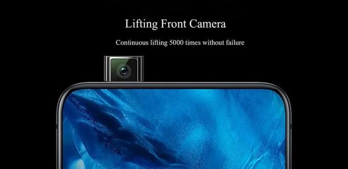 VIVO NEX2 フロントカメラが側面上から飛び出る!