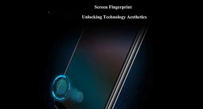 VIVO NEX ディスプレイに埋め込まれた指紋認証