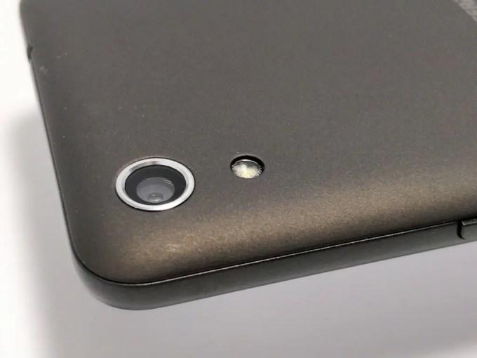 Android One S4 裏 カメラ