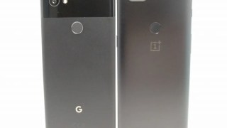 Google Pixel 2 XL 開封・アクティブエッジ・OnePlus5Tと比較・ベンチマーク レビュー