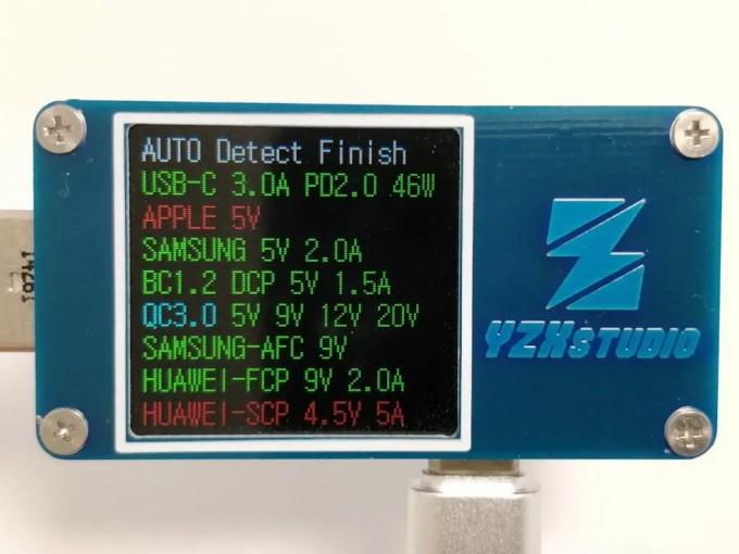 USB  Type-C PD対応のUSBアダプタ