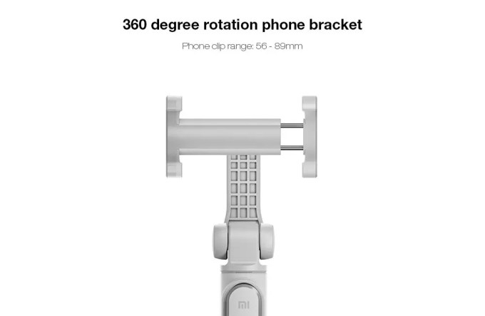 Xiaomi スマホ折りたたみ三脚・自撮り棒