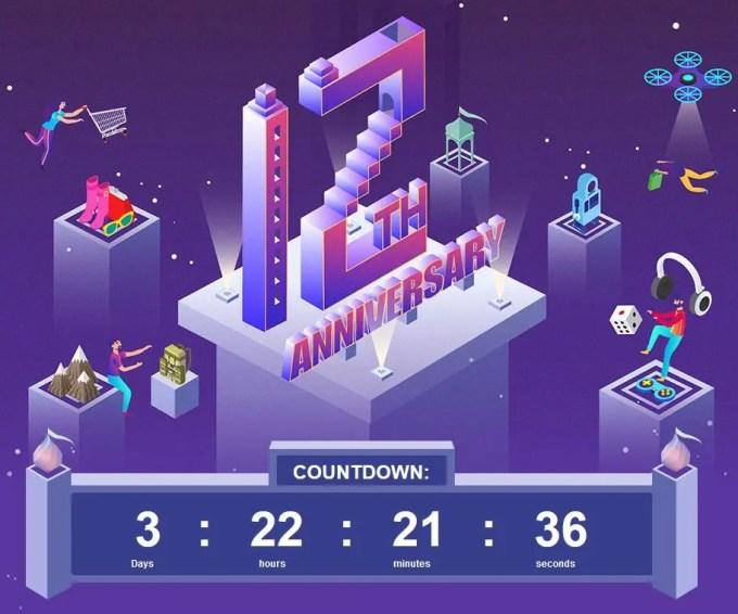 Banggood12周年キャンペーン