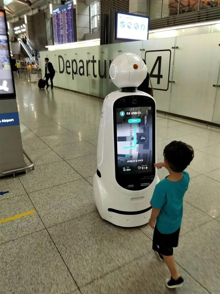 仁川国際空港 ロボット2