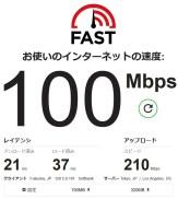 Fast スピードテスト