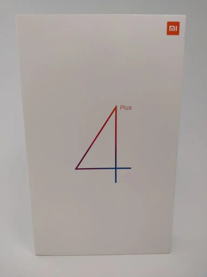 Xiaomi Mi Pad 4 Plus 箱