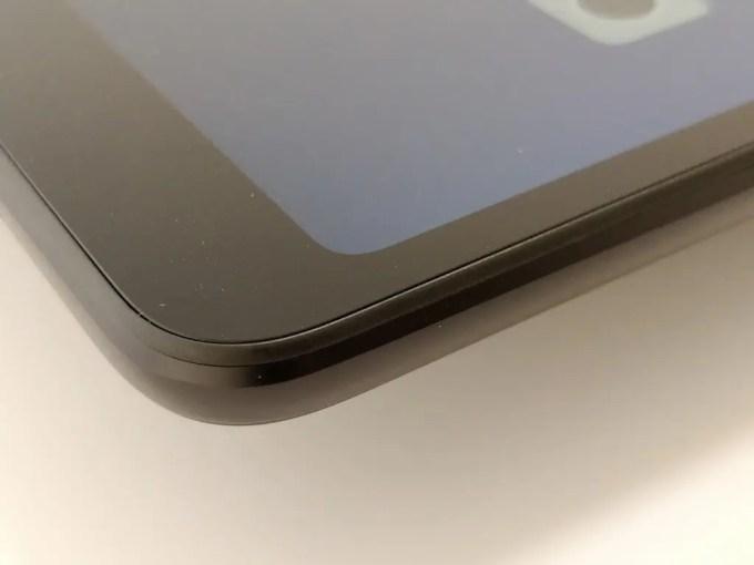 Xiaomi Mi Pad 4 Plus ディスプレイ面 プラパッキン