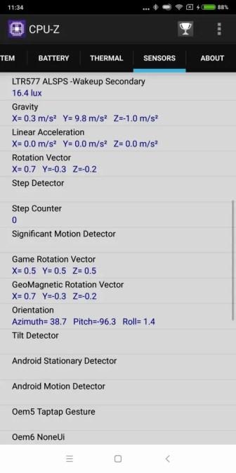 Xiaomi Mi Max 3 CPU-Z 8