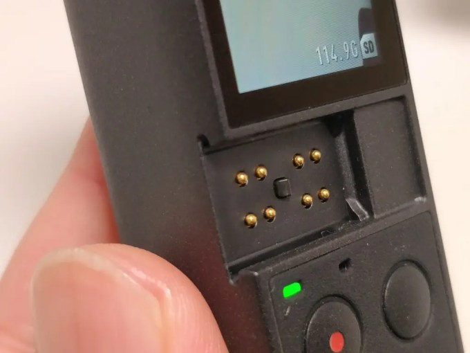 DJI Osmo Pocket アダプタ溝2