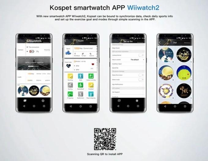 Kospet Hope App