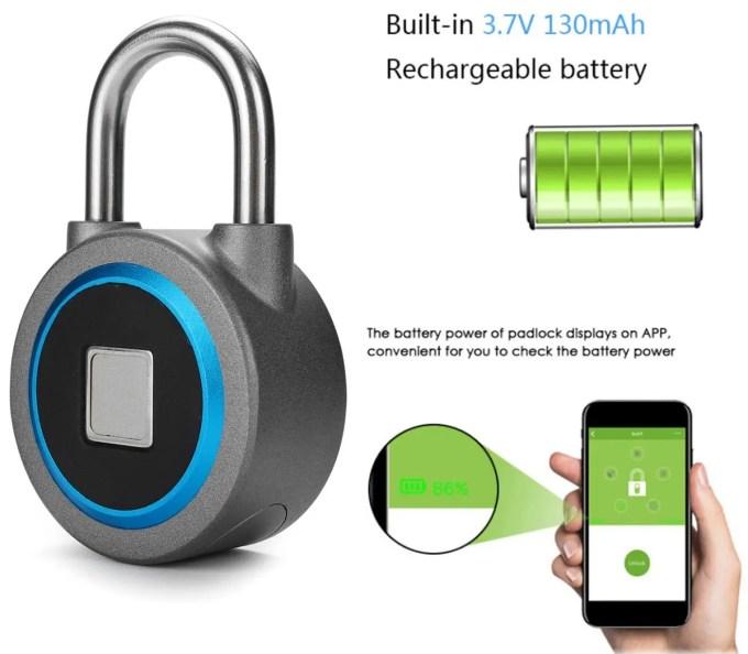 OKLOK Smart Lock バッテリー