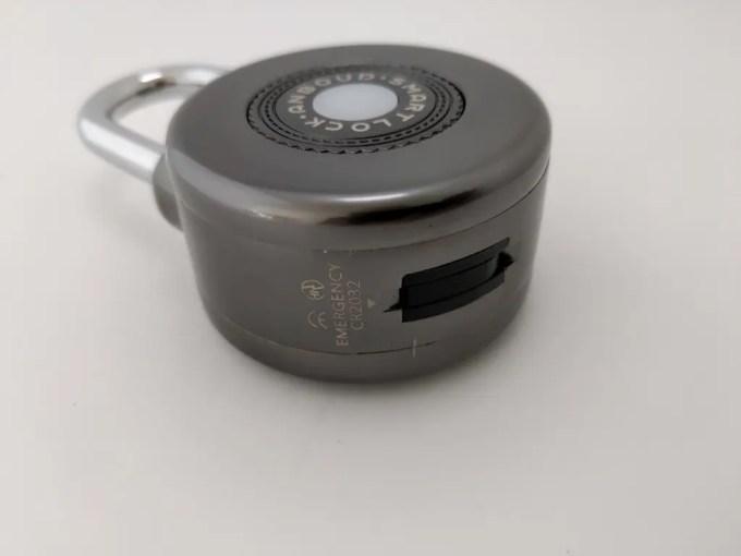 Bluetooth Smart Lock Anti Theft Alarm Lock サイド