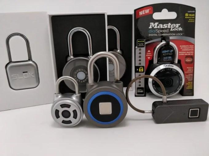 SLOK Mini Smart Bluetooth Padlock 全部