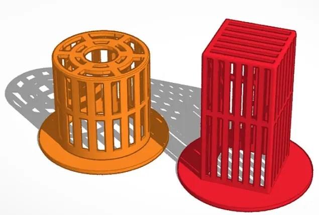 鉢 3Dデータ