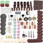 142pcs Electric Grinder Rotary Tool Accessories Kit Mini Rotary Power Drill Multifunction Tool
