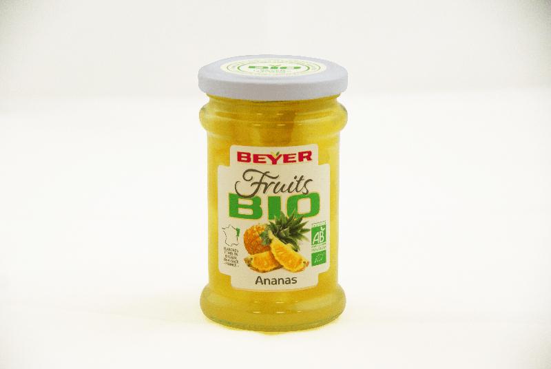 Ananas préservés BIO 25cl