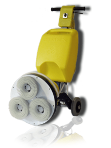 Cimex low moisture carpet cleaning machine