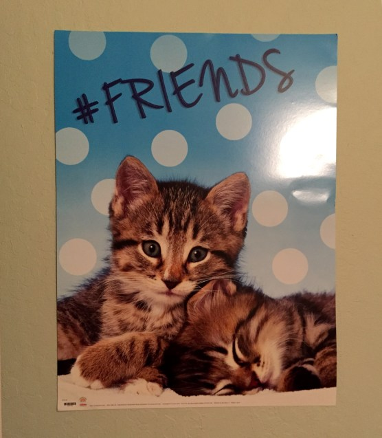 everyone needs a #friends poster