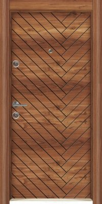 Usa Star Doors – Seria Rustic Laminox – Model SE-6021