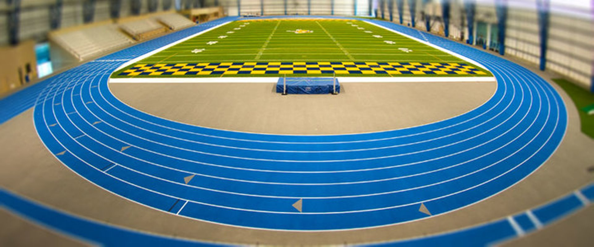 Welcome to the largest indoor track facility in the NCAA  Beynon