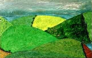 Drumlin Landscape, by Anthony Weir