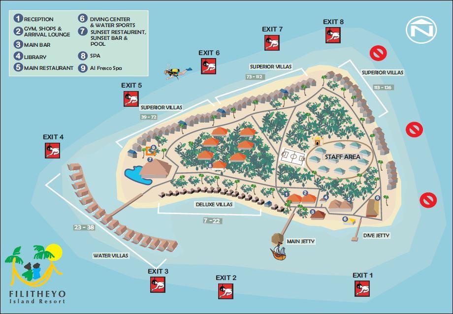 Filitheyo Island Resort Family Villa