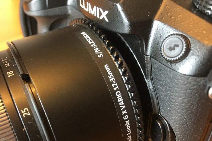 Lumix GH5 mit Nauticam Zoom Ring