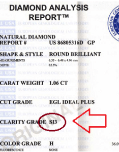 Egl usa diamond certifcate also si clarity grade how reliable is it scam alert rh beyond cs