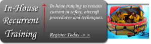 Corporate Flight Attendant Recurrent Emergency Training