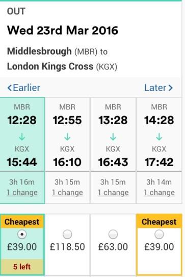 MARCH: over 100% cheaper