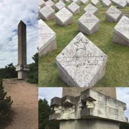 Soviet World War II memorial at Tehumardi