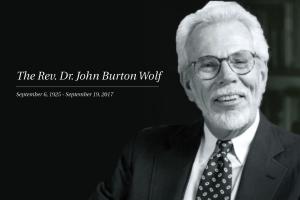 Rev. Dr. John B. Wolf