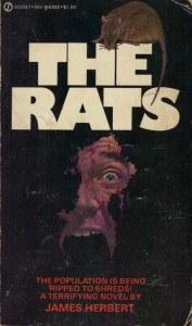 Rats, The by James Herbert Signet May 1975 1st ed pbk