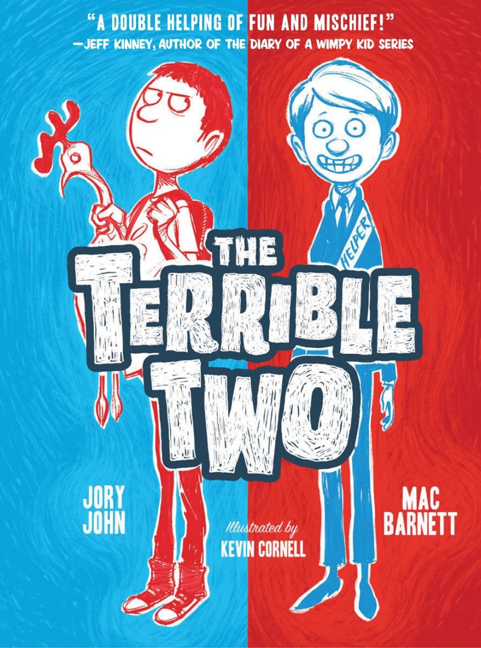The Terrible Two Children's Book Optioned By Universal