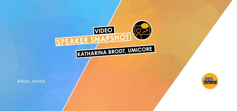 Katharina Brodt Speaker Snapshot