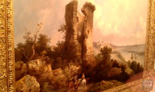 Painting of Hadleigh Castle
