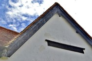 Wooden details on the granary - enhanced to show them clearly
