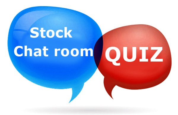 Stock Chat Room Quiz