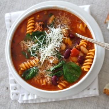 Organic Bean & Pasta Soup