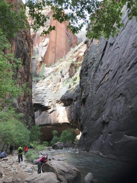 slot canyon narrows