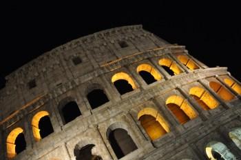 rome colosseum night tour